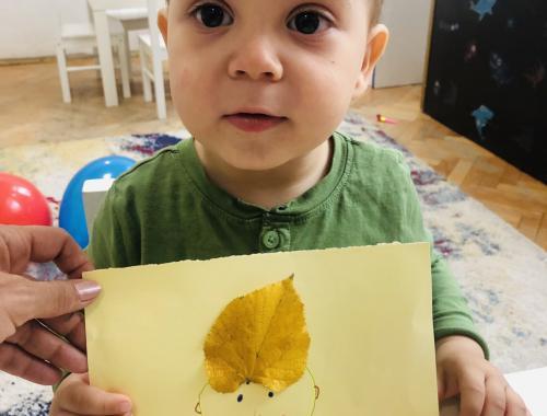 Картини от есенни листа
