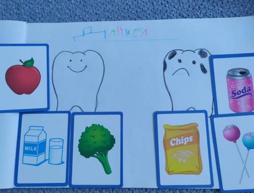 Плодове и зеленчуци - полезни храни за нашите зъбки
