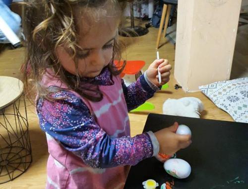Кошничка за великденски яйца